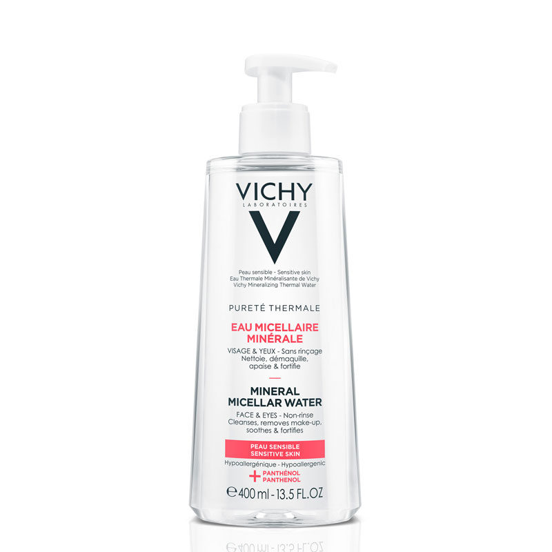 Image of Vichy Pureté Thermale Micellaire Mineraalwater Gevoelige Huid - 2x400ml