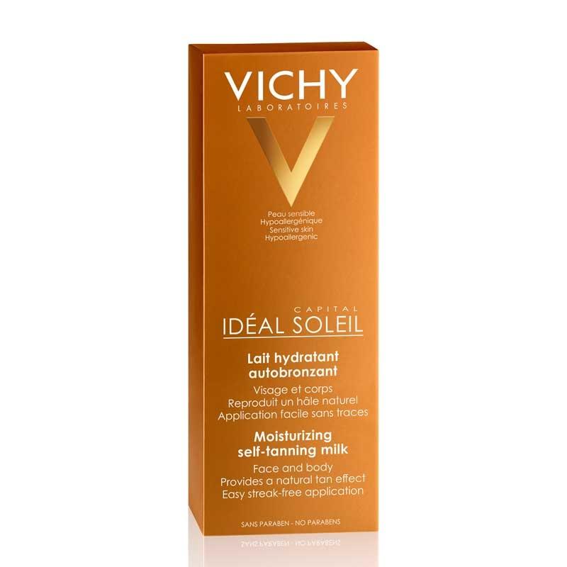 Vichy Vichy Ideal Soleil Zelfbruinende Melk gezicht en lichaam - 2x100 ml