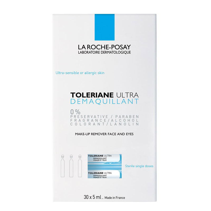 La Roche-Posay La Roche-Posay Tolériane Ultra Oogreinigingsampullen - 2x 30 x 5ml