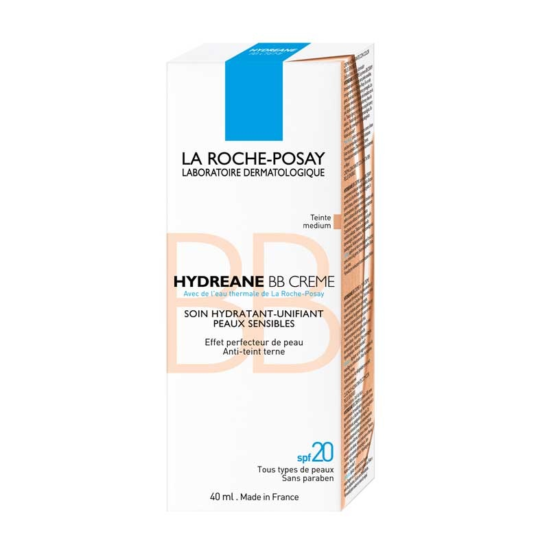 La Roche-Posay La Roche-Posay Hydréane BB Crème Medium - 2x40ml