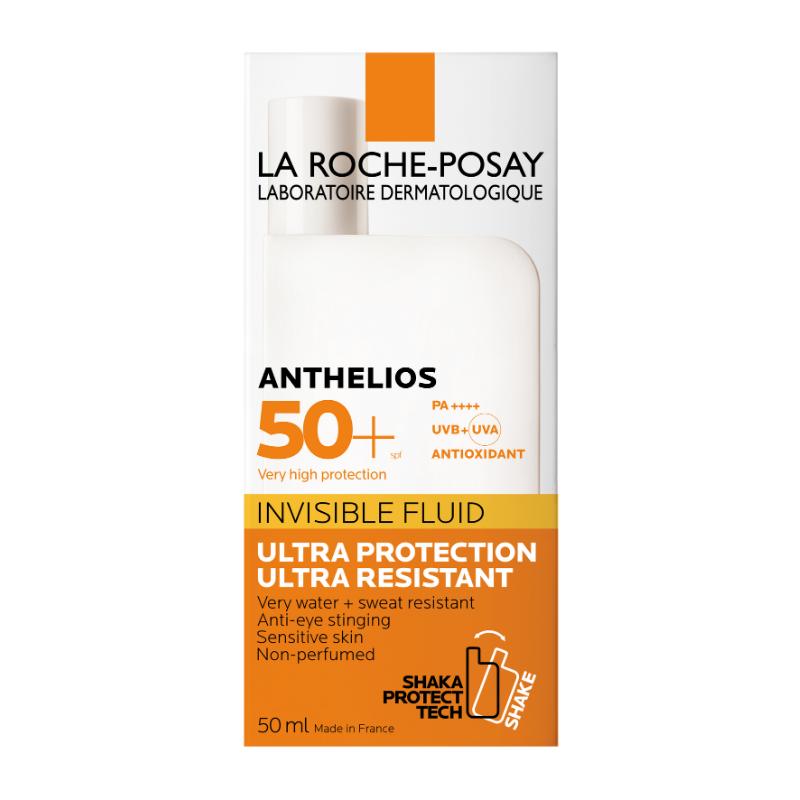 La Roche-Posay La Roche-Posay Anthelios Onzichtbare Fluide SPF50+ zonder parfum - 2x50ml