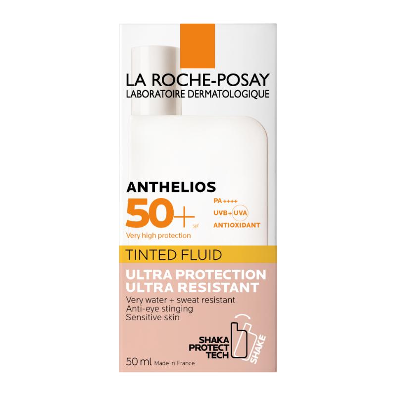 La Roche-Posay La Roche-Posay Anthelios Onzichtbare Fluide Getint SPF50+ - 2x50ml