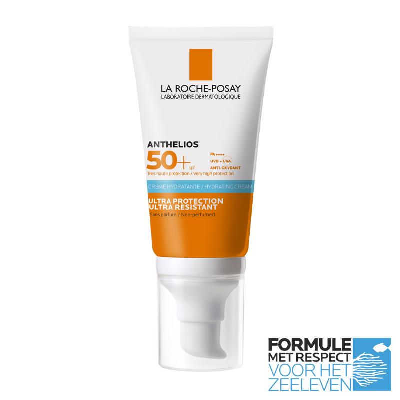 La Roche-Posay La Roche-Posay Anthelios Ultra Crème SPF50+ zonder parfum - 2x50ml