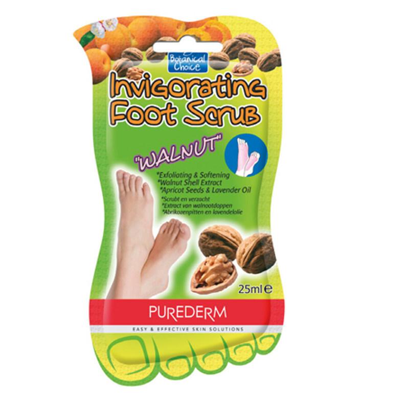 Image of PureDerm Foot Scrub Walnut - 25ml