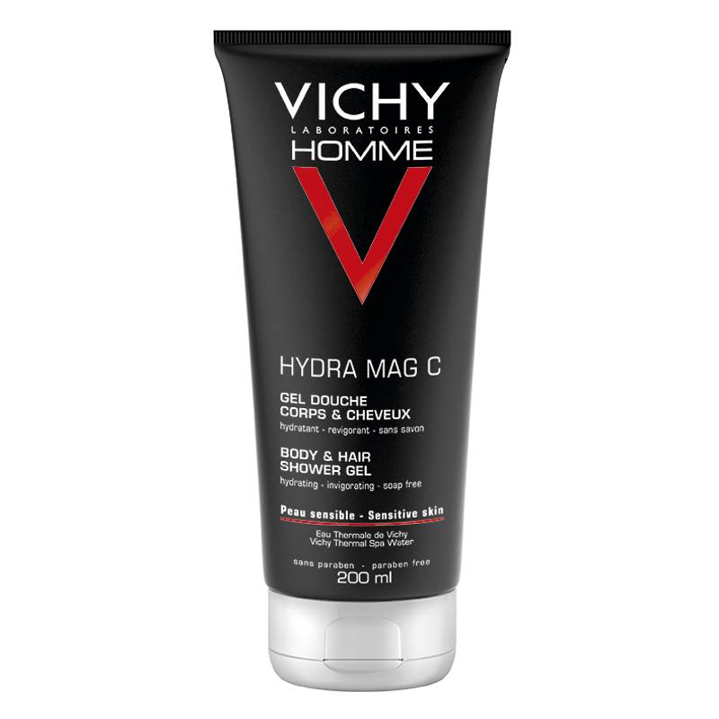 Image of Vichy Homme Hydra Mag C Douchegel - 2x 200 ml