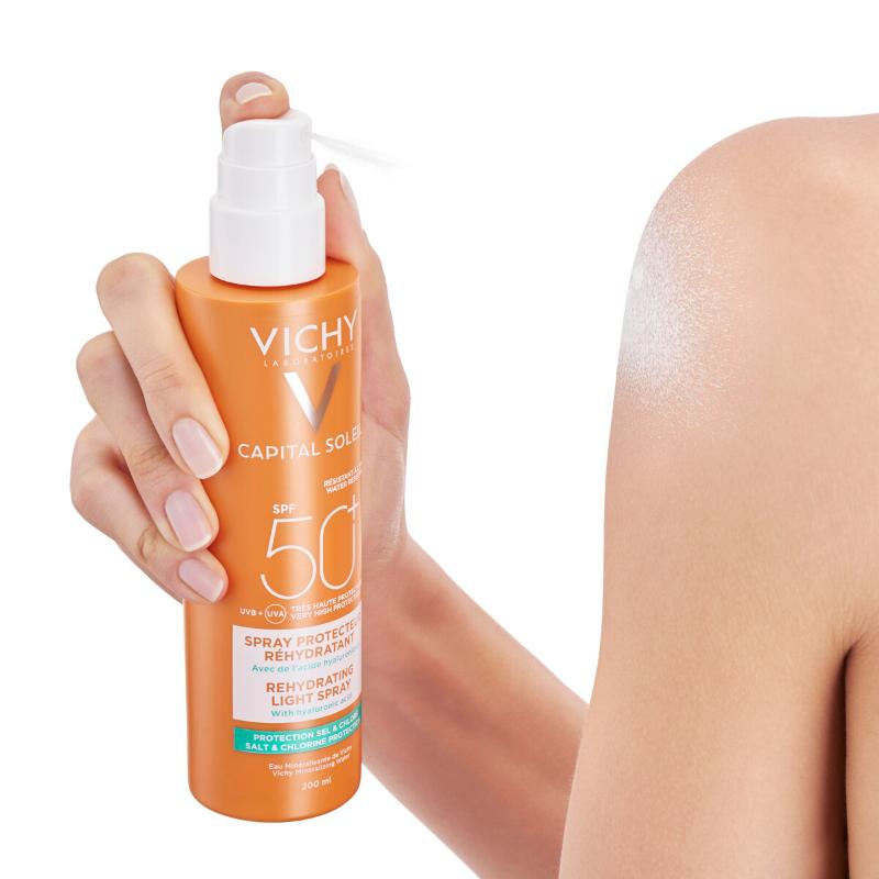 Vichy Vichy Capital SoleilL Beach Protect Anti-dehydratatie Spray SPF50+ - 200ml