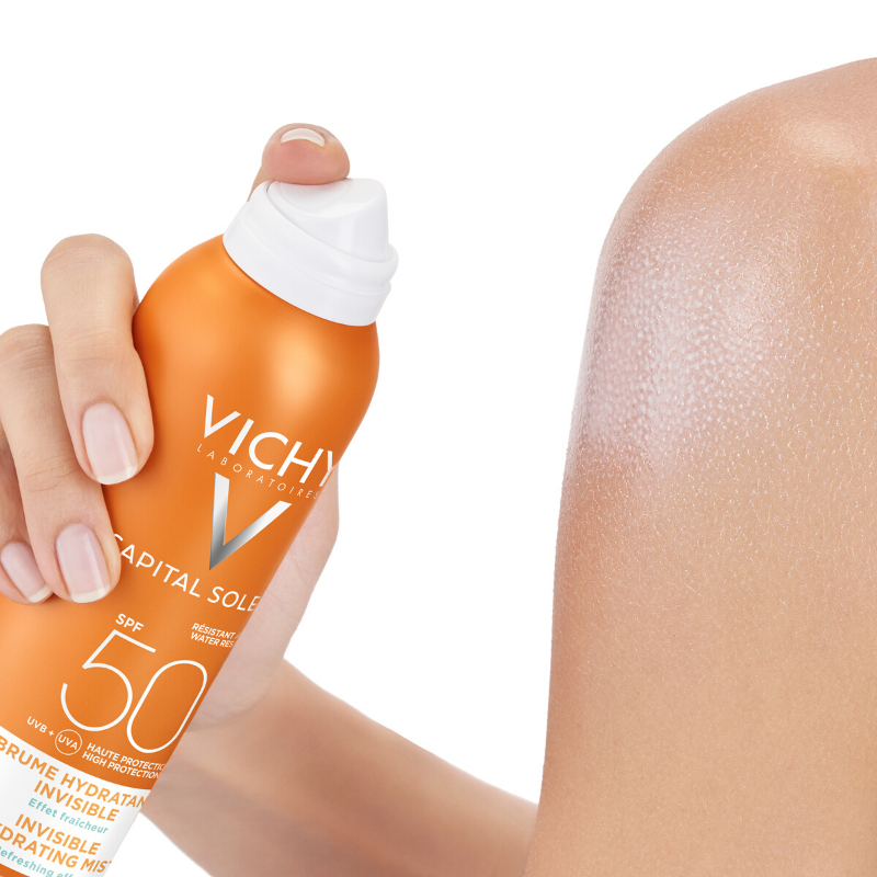 Vichy Vichy Capital Soleil Onzichtbare Hydraterende Mist Spray SPF 50 - 200ml