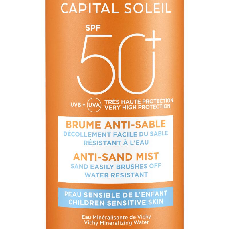 Vichy Vichy Capital Soleil Anti-Zand Spray voor kinderen SPF 50+ - 200ml