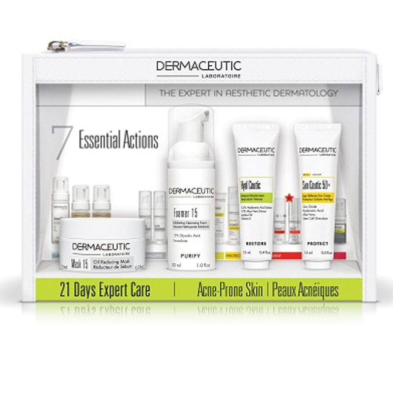 Image of Dermaceutic 21 Days Expert Care Kit - Acne-Prone Skin