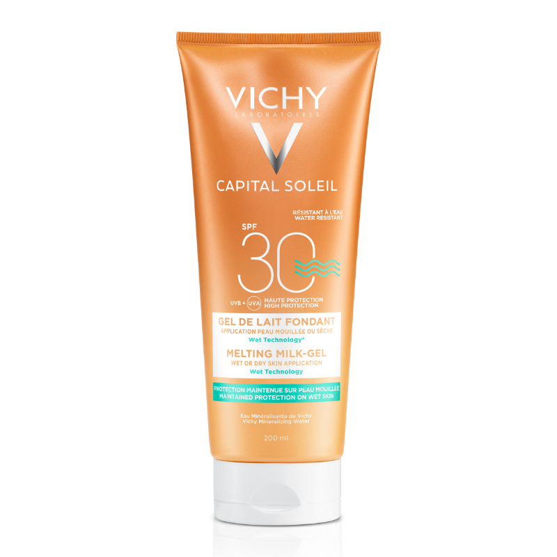Image of Vichy Capital Soleil Ultra Smeltende Melk-Gel SPF30 - 200ml