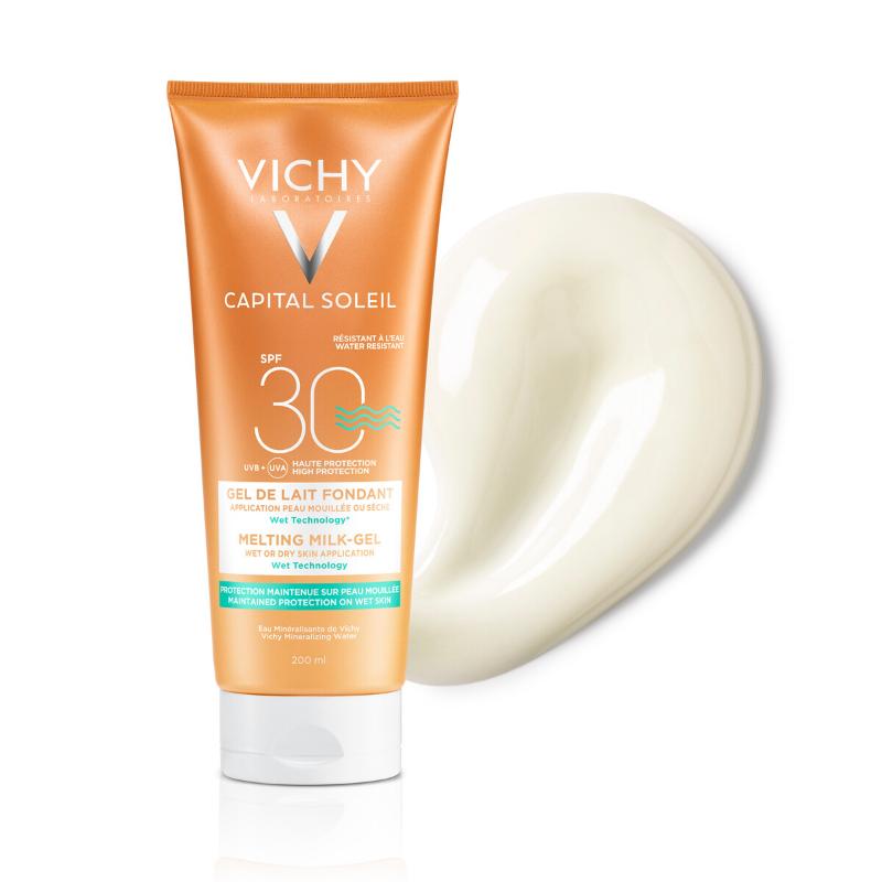 Vichy Vichy Capital Soleil Ultra Smeltende Melk-Gel SPF30 - 200ml