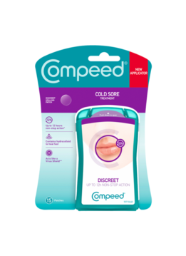 Compeed Compeed Patch Invisible Tegen Lipblaasjes - 15st
