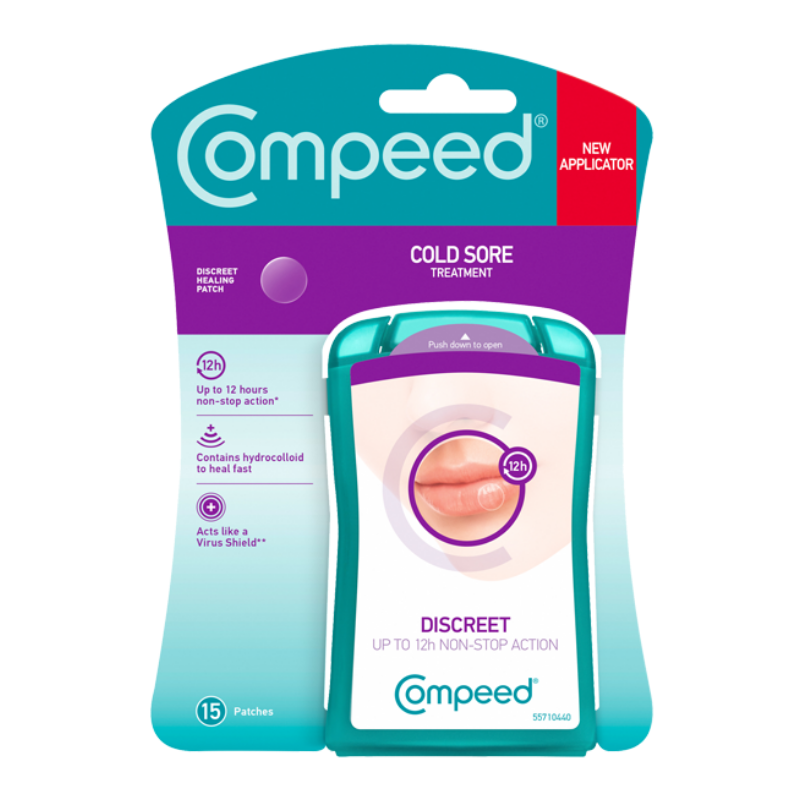 Image of Compeed Patch Invisible Tegen Lipblaasjes - 15st