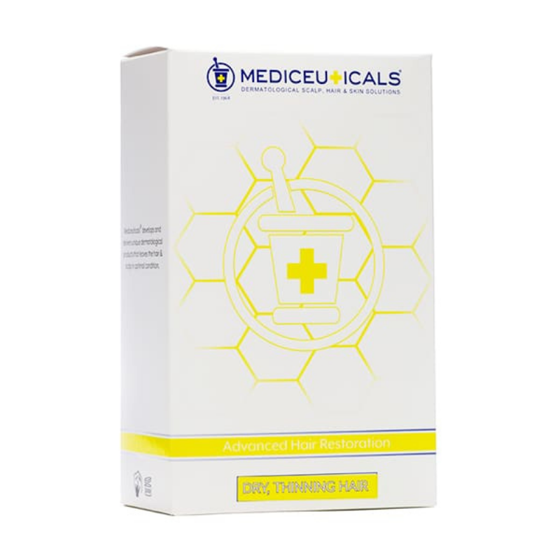 Image of Mediceuticals Advanced Hair Restoration Kit For Men (Droge Hoofdhuid)