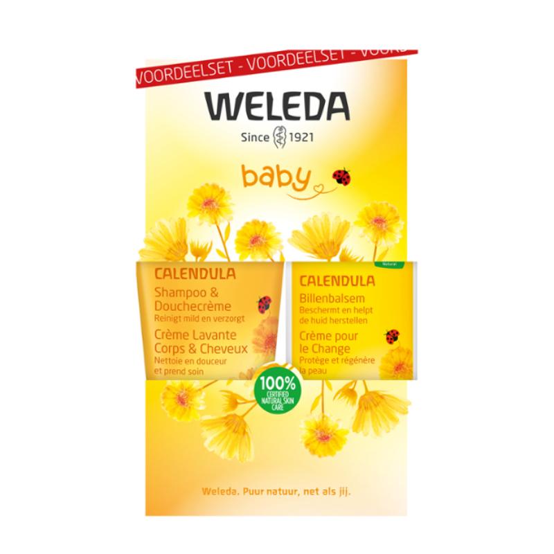 Weleda Weleda Calendula Baby Billenbalsem Voordeelset - 1st