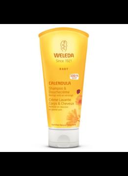 Weleda Weleda Calendula Babyshampoo & Douchecrème - 200ml