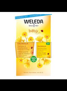 Weleda Weleda Calendula Baby Gezichtscrème Voordeelset - 1st