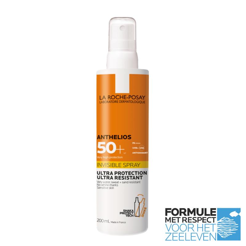 La Roche-Posay La Roche-Posay Anthelios Onzichtbare Spray SPF50+ - 2x200ml