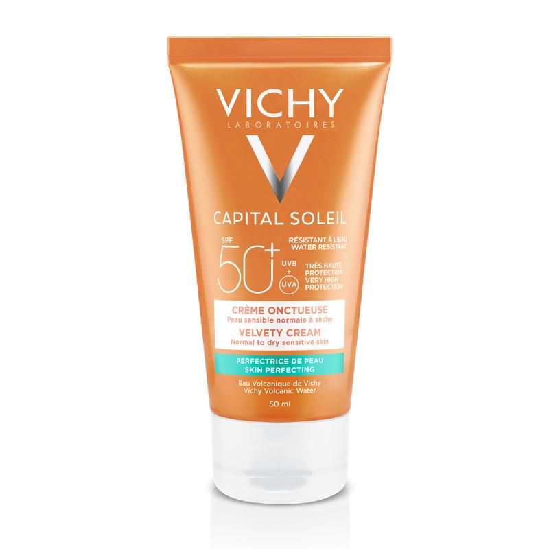 Vichy Vichy Capital Soleil Fluweelachtige Crème SPF50+ voor het gezicht  - 50 ml