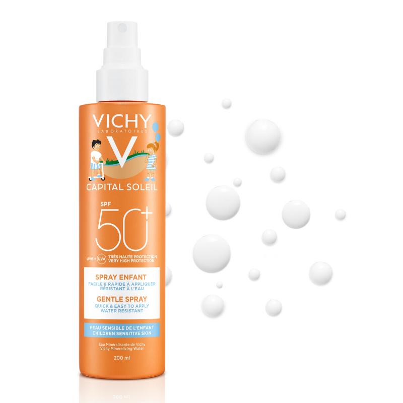 Vichy Vichy Capital Soleil Spray Kind SPF 50+ - 2x200ml