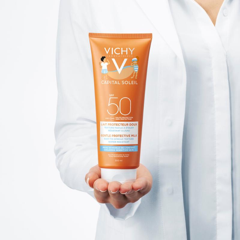 Vichy Vichy Capital Soleil Melk Kind SPF50 - 2x300ml