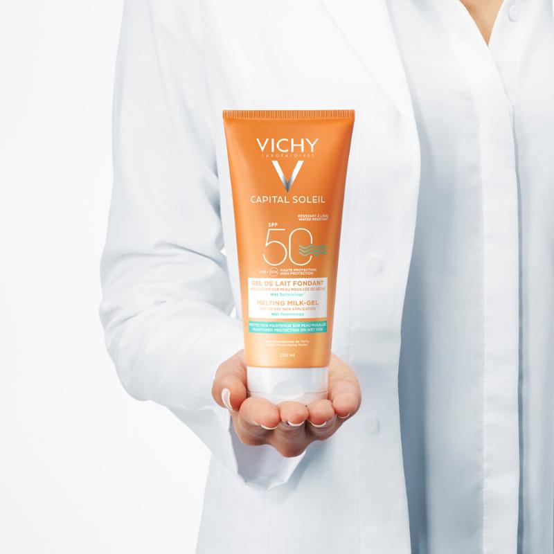 Vichy Vichy Capital Soleil Ultra Smeltende Melk-Gel SPF50 - 2x200ml