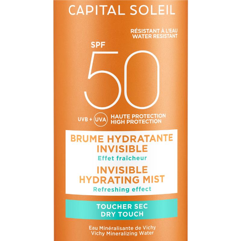 Vichy Vichy Ideal Soleil Onzichtbare Hydraterende Mist Spray SPF 50 - 2x200ml