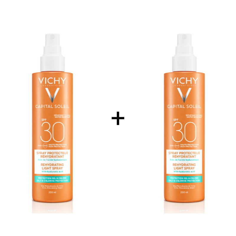 Vichy Vichy Capital Soleil Beach Protect Anti-dehydratatie Spray SPF30 - 2x200ml