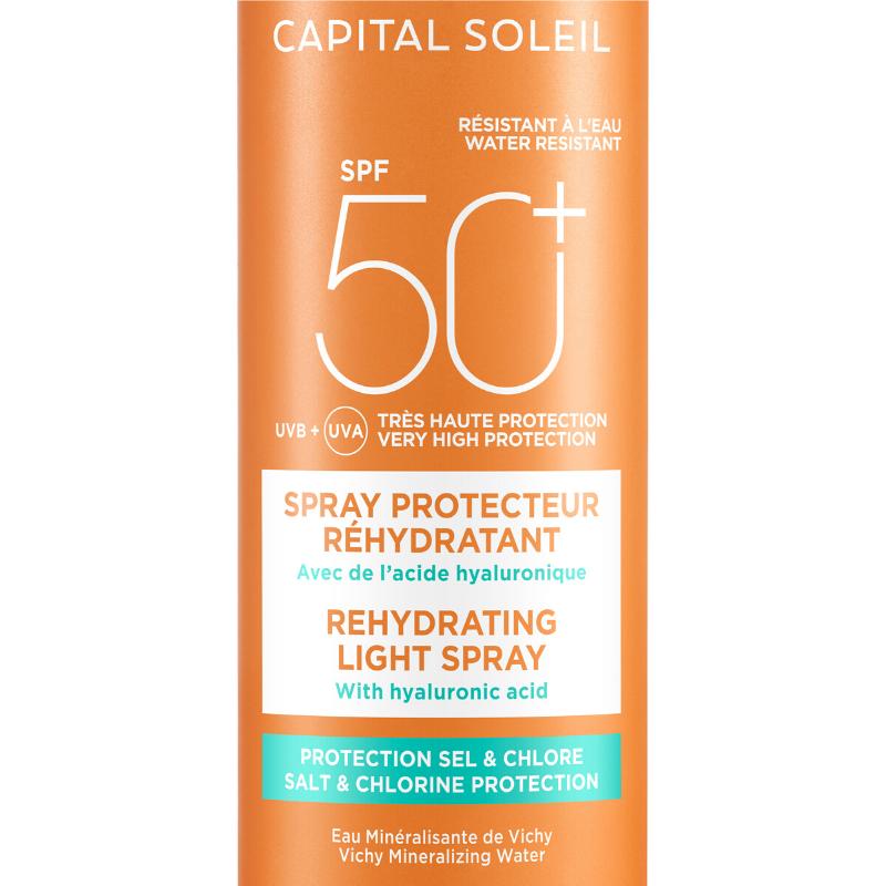 Vichy Vichy Capital Soleil Beach Protect Anti-dehydratatie Spray SPF50+ - 2x200ml