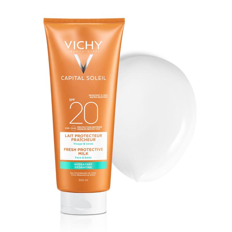 Vichy Vichy Capital Soleil Beach Protect Hydraterende Melk SPF20 - 2x300ml