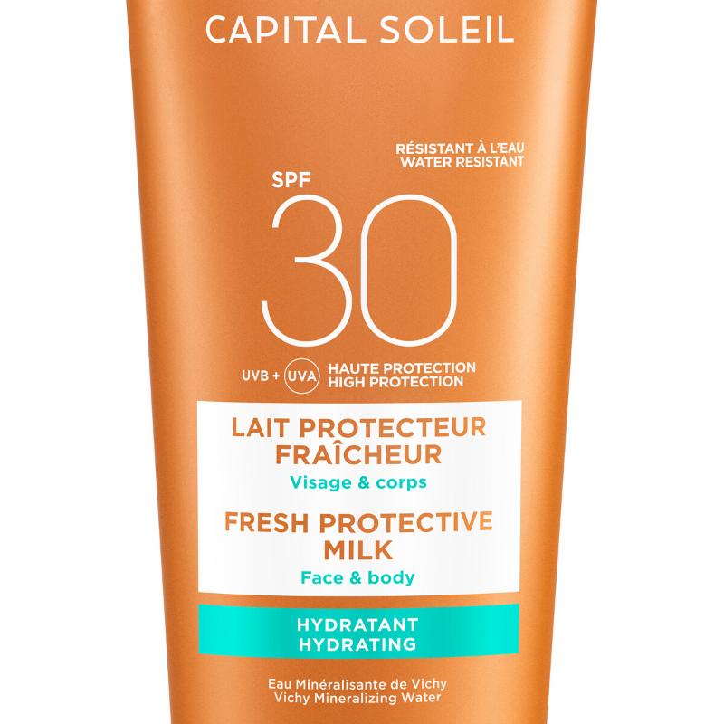 Vichy Vichy Capital Soleil Beach Protect Hydraterende Melk SPF30 - 2x300ml