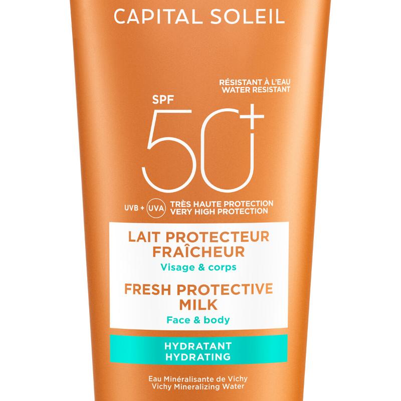 Vichy Vichy Capital Soleil Beach Protect Hydraterende Melk SPF50+ - 2x300ml