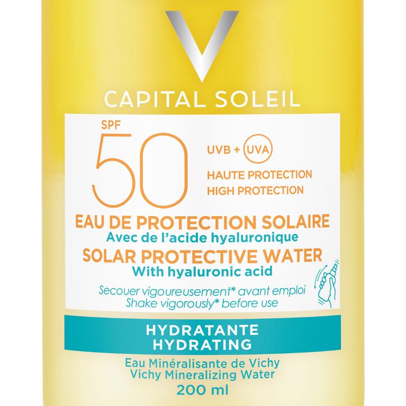 Vichy Vichy Capital Soleil Zonbeschermend water Hydratatie SPF50 - 2x200ml