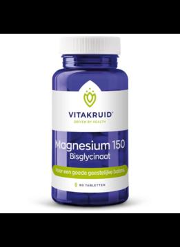 Vitakruid Vitakruid Magnesium 150 bisglycinaat - 60 tabletten