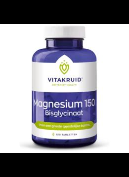 Vitakruid Vitakruid Magnesium 150 bisglycinaat - 120 tabletten