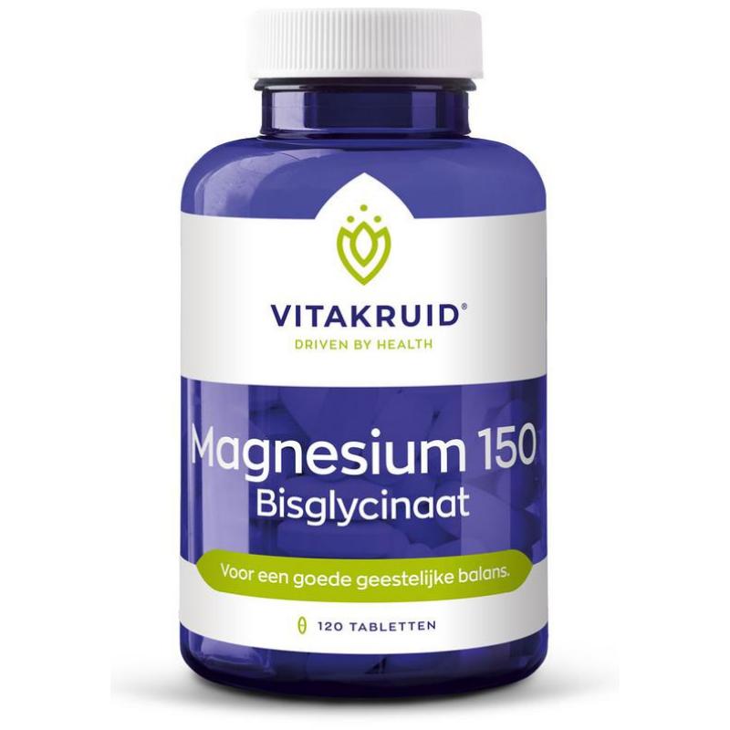 Image of Vitakruid Magnesium 150 bisglycinaat - 120 tabletten