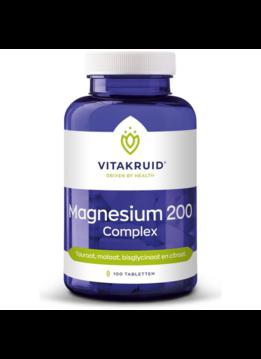 Vitakruid Vitakruid Magnesium 200 complex - 100 tabletten