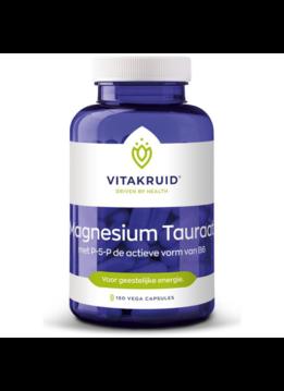 Vitakruid Vitakruid Magnesium tauraat met P-5-P - 150 vcaps