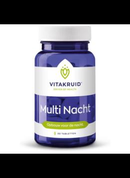 Vitakruid Vitakruid Multi nacht - 30 tabletten