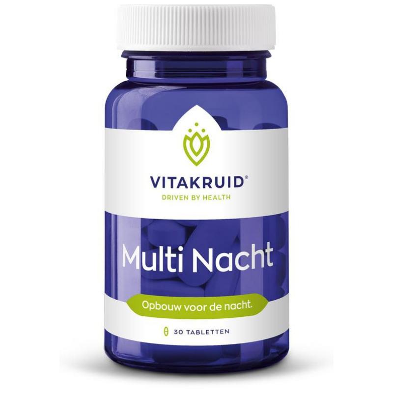 Image of Vitakruid Multi nacht - 30 tabletten