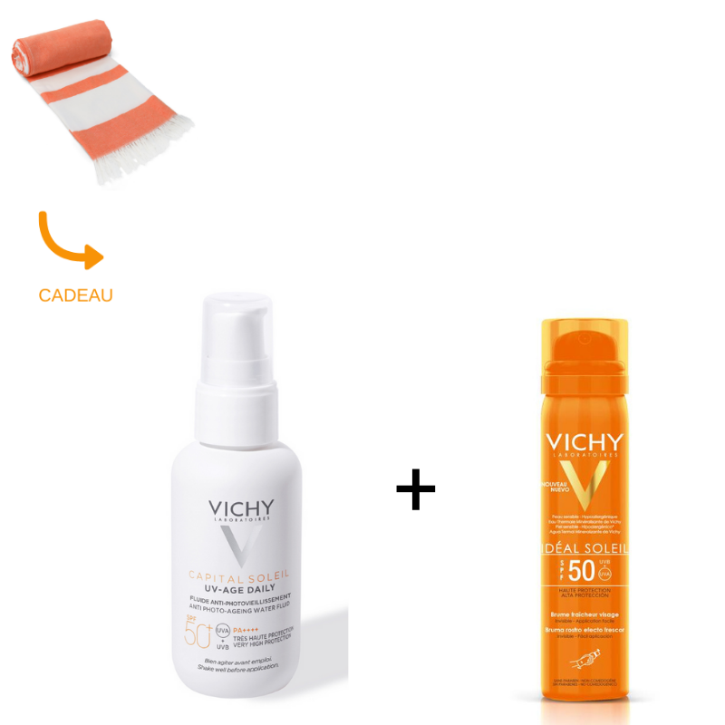 Vichy Vichy Capital Soleil – On the go Gezichtsbescherming Anti-Age