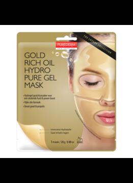 PureDerm PureDerm Gold Rich Oil Hydro Pure Gel Gezichtsmasker