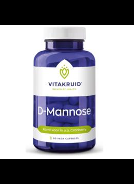 Vitakruid Vitakruid D-Mannose - 90 vegacaps