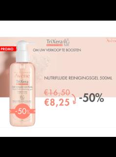 Eau Thermale Avène Aktie - Avene TriXera Nutrition nutri-fluide Reinigingsgel - 500ml