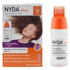 Nyda NYDA plus - tegen Luizen&Neten + kam-applicator - 100ml