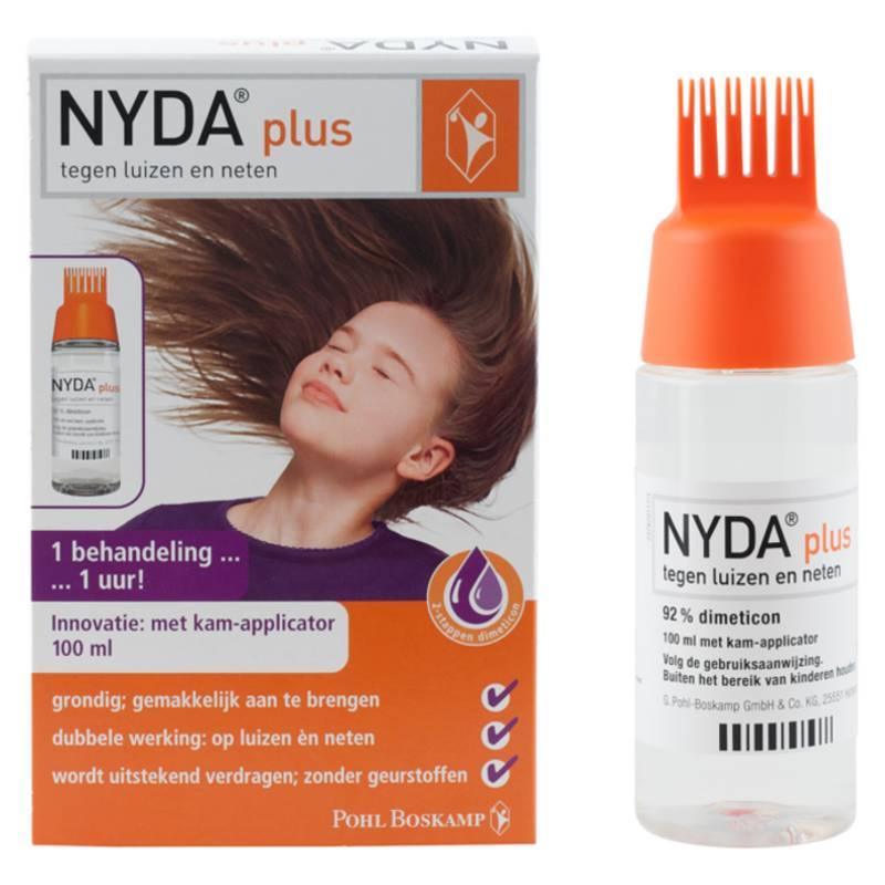 Image of NYDA plus - tegen Luizen&Neten + kam-applicator - 100ml