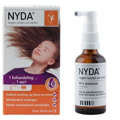 Nyda NYDA tegen Luizen&Neten Pompspray - 50ml
