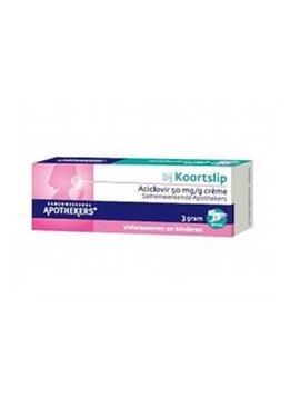 Aciclovir Koortslipcrème - 3g