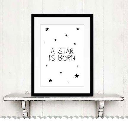 Poster babykamer - stevige kwaliteit posters uit onze eigen keuken