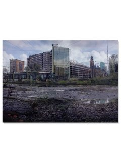Poster: Verlaten Rotterdam